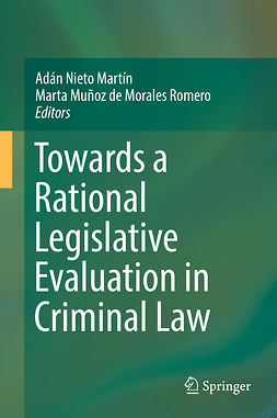 Martín, Adán Nieto - Towards a Rational Legislative Evaluation in Criminal Law, e-bok
