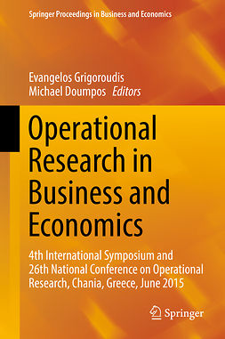 Doumpos, Michael - Operational Research in Business and Economics, ebook