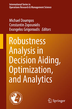Doumpos, Michael - Robustness Analysis in Decision Aiding, Optimization, and Analytics, e-kirja
