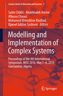 Amine, Abdelmalek - Modelling and Implementation of Complex Systems, e-kirja