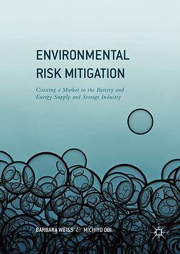 Obi, Michiyo - Environmental Risk Mitigation, ebook