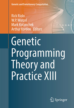 Kordon, Arthur - Genetic Programming Theory and Practice XIII, ebook