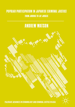 Watson, Andrew - Popular Participation in Japanese Criminal Justice, e-bok