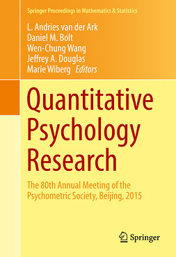Ark, L. Andries van der - Quantitative Psychology Research, e-bok