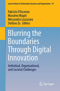 D'Ascenzo, Fabrizio - Blurring the Boundaries Through Digital Innovation, ebook