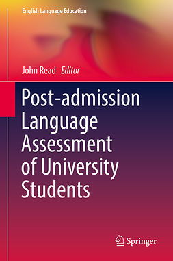Read, John - Post-admission Language Assessment of University Students, ebook