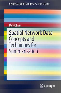 Oliver, Dev - Spatial Network Data, ebook