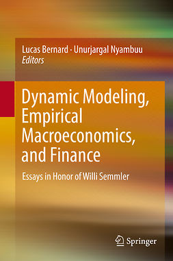 Bernard, Lucas - Dynamic Modeling, Empirical Macroeconomics, and Finance, ebook
