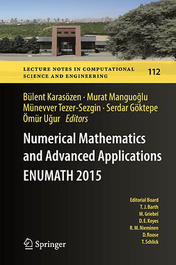 Göktepe, Serdar - Numerical Mathematics and Advanced Applications  ENUMATH 2015, e-kirja