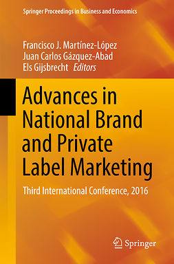 Gijsbrecht, Els - Advances in National Brand and Private Label Marketing, ebook