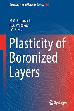 Krukovich, M. G. - Plasticity of Boronized Layers, ebook