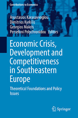 Karasavvoglou, Anastasios - Economic Crisis, Development and Competitiveness in Southeastern Europe, e-bok
