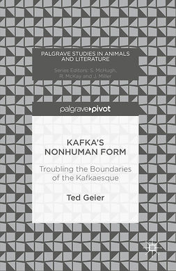 Geier, Ted - Kafka's Nonhuman Form, ebook