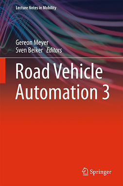 Beiker, Sven - Road Vehicle Automation 3, ebook