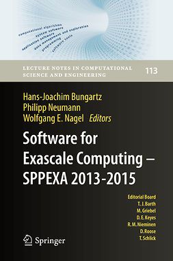 Bungartz, Hans-Joachim - Software for Exascale Computing - SPPEXA 2013-2015, ebook