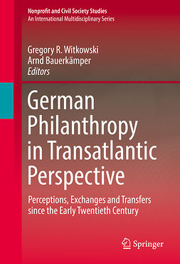 Bauerkämper, Arnd - German Philanthropy in Transatlantic Perspective, ebook