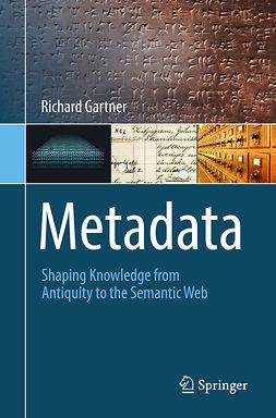 Gartner, Richard - Metadata, ebook