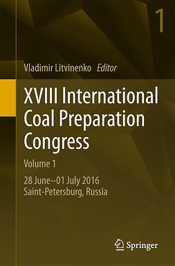 Litvinenko, Vladimir - XVIII International Coal Preparation Congress, e-kirja