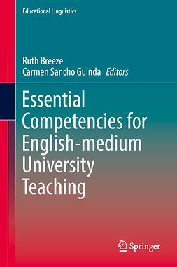 Breeze, Ruth - Essential Competencies for English-medium University Teaching, e-bok