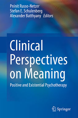 Batthyany, Alexander - Clinical Perspectives on Meaning, e-kirja