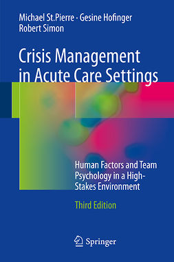 Hofinger, Gesine - Crisis Management in Acute Care Settings, ebook