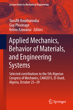 Azouaoui, Krimo - Applied Mechanics, Behavior of Materials, and Engineering Systems, ebook