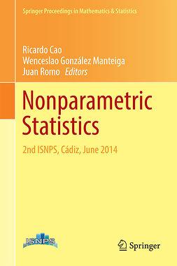 Cao, Ricardo - Nonparametric Statistics, e-bok