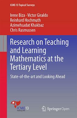 Biza, Irene - Research on Teaching and Learning Mathematics at the Tertiary Level, e-kirja