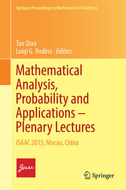 Qian, Tao - Mathematical Analysis, Probability and Applications – Plenary Lectures, ebook