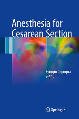 Capogna, Giorgio - Anesthesia for Cesarean Section, ebook
