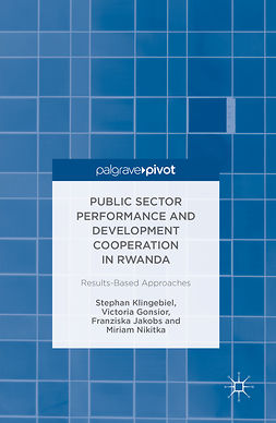 Gonsior, Victoria - Public Sector Performance and Development Cooperation in Rwanda, ebook