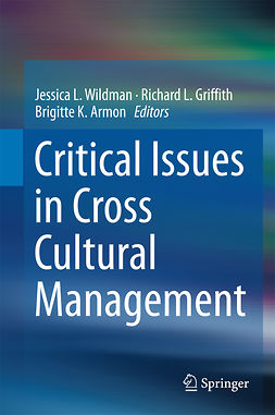 Armon, Brigitte K. - Critical Issues in Cross Cultural Management, e-kirja