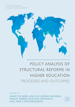 Boer, Harry de - Policy Analysis of Structural Reforms in Higher Education, e-kirja