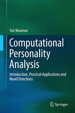Neuman, Yair - Computational Personality Analysis, ebook