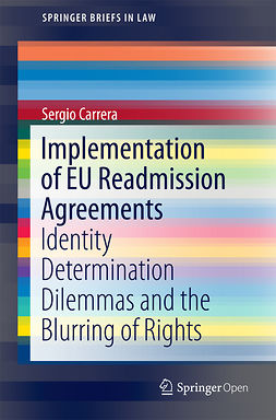 Carrera, Sergio - Implementation of EU Readmission Agreements, ebook