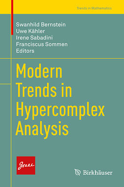 Bernstein, Swanhild - Modern Trends in Hypercomplex Analysis, e-bok