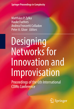 Colladon, Andrea Fronzetti - Designing Networks for Innovation and Improvisation, ebook