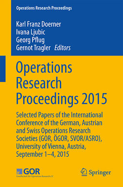 Doerner, Kar - Operations Research Proceedings 2015, ebook