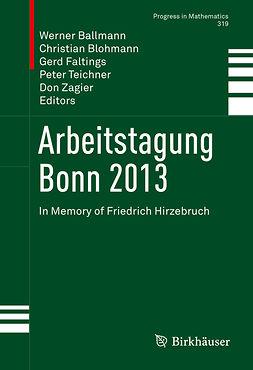 Ballmann, Werner - Arbeitstagung Bonn 2013, ebook