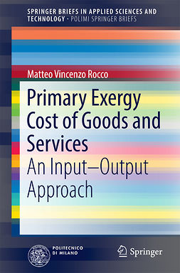Rocco, Matteo Vincenzo - Primary Exergy Cost of Goods and Services, ebook