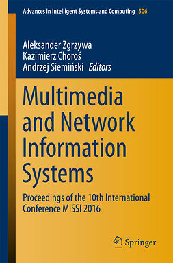 Choroś, Kazimierz - Multimedia and Network Information Systems, ebook