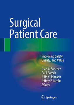 Barach, Paul - Surgical Patient Care, e-bok