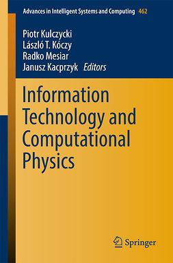 Kacprzyk, Janusz - Information Technology and Computational Physics, ebook