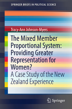 Johnson-Myers, Tracy-Ann - The Mixed Member Proportional System: Providing Greater Representation for Women?, ebook