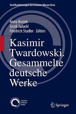 Brożek, Anna - Kasimir Twardowski, e-kirja