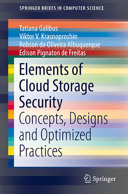 Albuquerque, Robson de Oliveira - Elements of Cloud Storage Security, e-bok