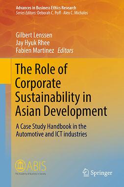 Lenssen, Gilbert - The Role of Corporate Sustainability in Asian Development, e-bok