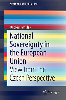 Hamuľák, Ondrej - National Sovereignty in the European Union, e-kirja