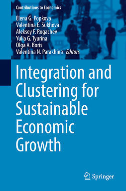 Boris, Olga A. - Integration and Clustering for Sustainable Economic Growth, ebook