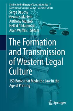 Dauchy, Serge - The Formation and Transmission of Western Legal Culture, ebook
